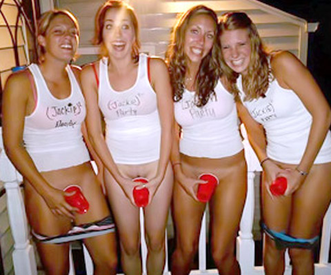 Naked party sluts never before seen video